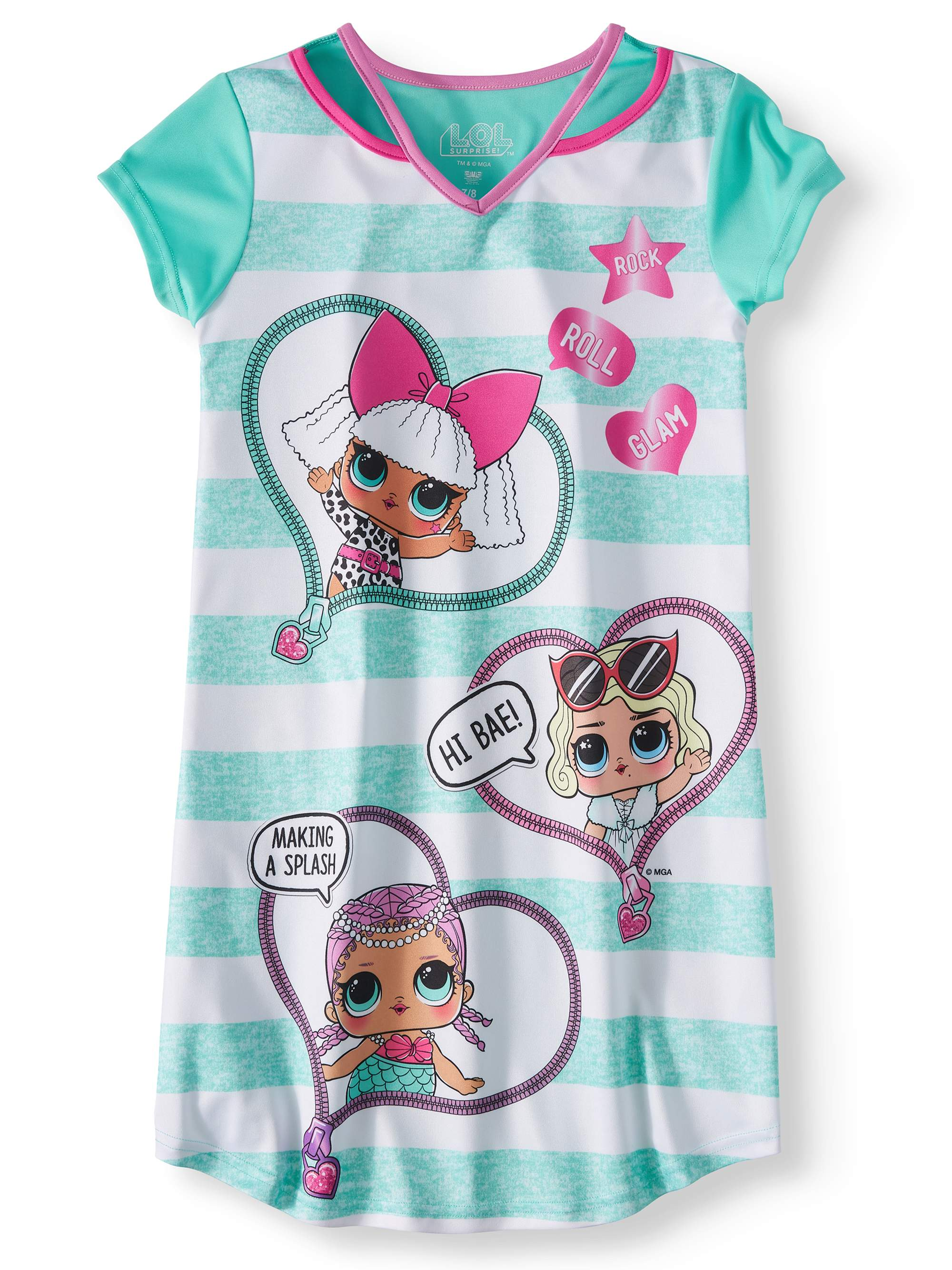 Girls' LOL Surprise! Pajama Nightgown