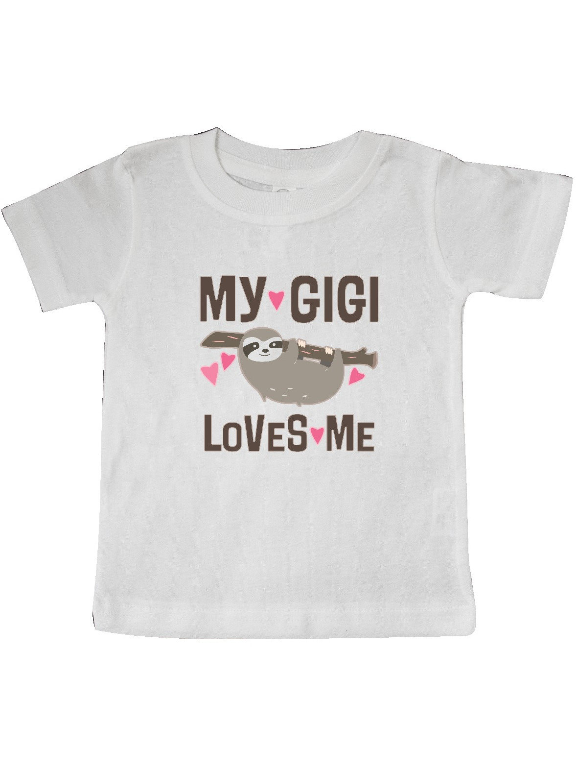 inktastic Sloth Gifts for Girls Toddler Long Sleeve T-Shirt