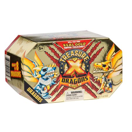 Treasure X Quest for Dragons Gold Deluxe Treasure Toy