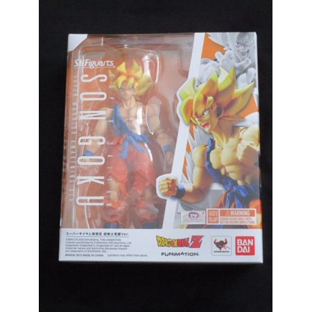 Dragon Ball Z: SH Figuarts - Super Saiyan Son Goku Warrior Awakening Action Figure by Bandai