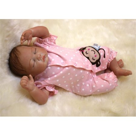NPK Collection Reborn Baby Doll Soft Silicone 21inch 52cm Magnetic Lovely Lifelike Cute Lovely Baby Lovely doll (Cute Doll Halloween Makeup)