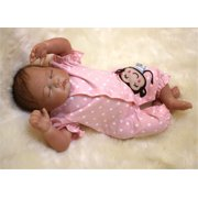 NPK Collection Reborn Baby Doll Soft Silicone 21inch 52cm Magnetic Lovely Lifelike Cute Lovely Baby Lovely doll