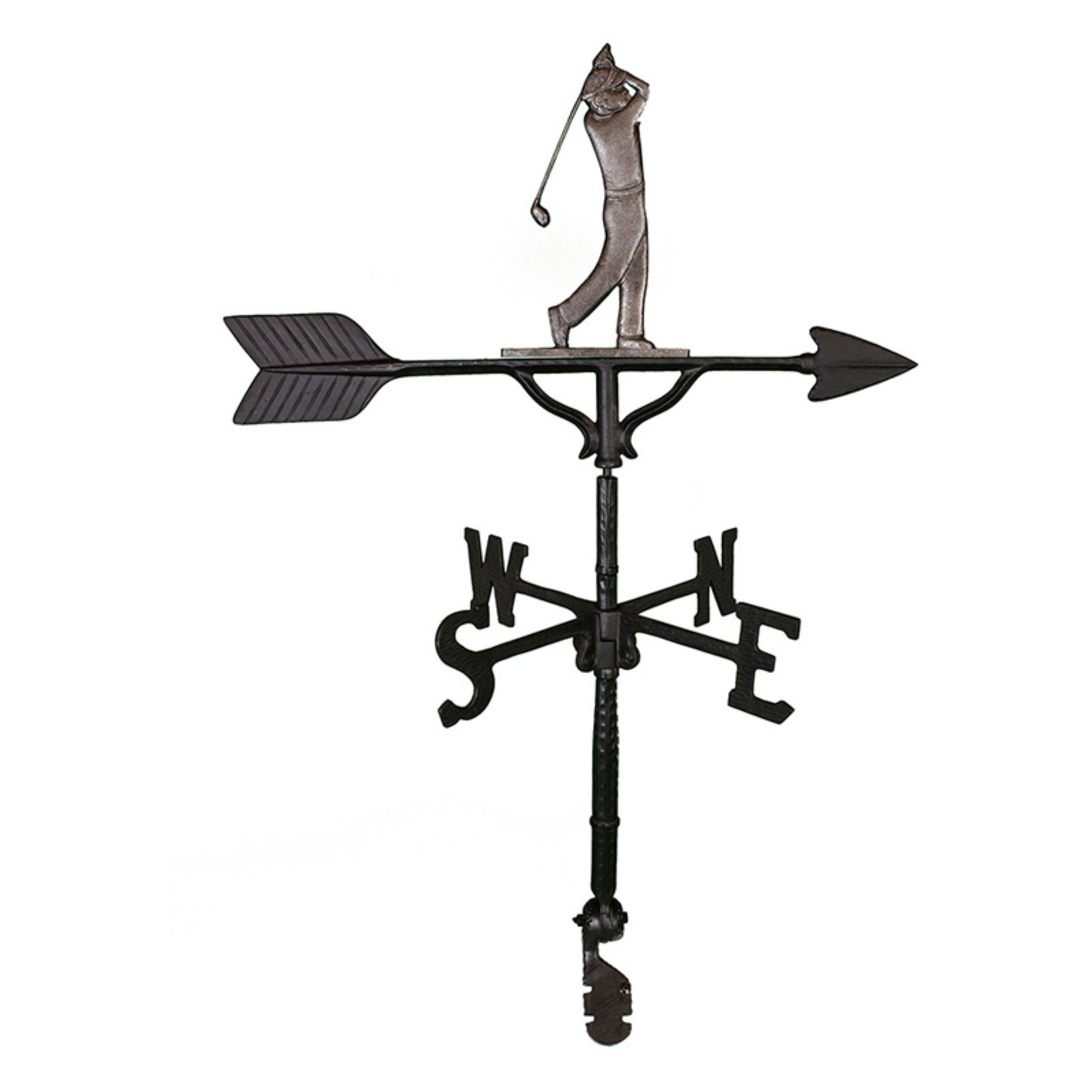 Swedish Iron Golfer Weathervane 32 in. by Montague Metal Products