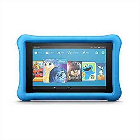 Refurbished All New Fire 7 Kids Edition Tablet  7 Display  16 Gb  Blue Kid Proof Case