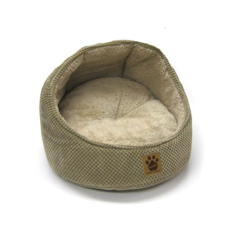 Precision Pet Products Hooded Cat Bed in Tan