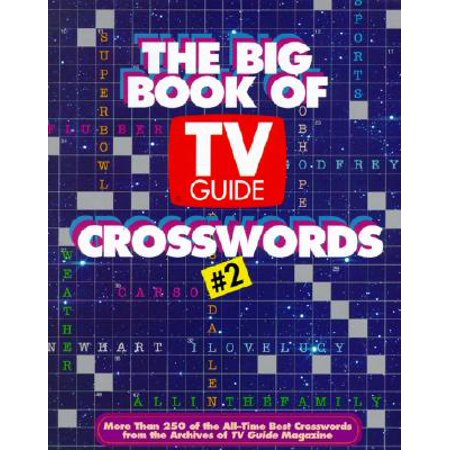 The Big Book of TV Guide Crosswords #2 (Tv Guide Magazine Subscription Best Price)