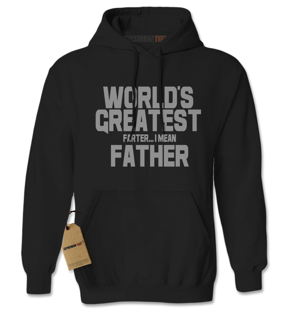 World's Greatest Farter Father Adult Hoodie Sweatshirt
