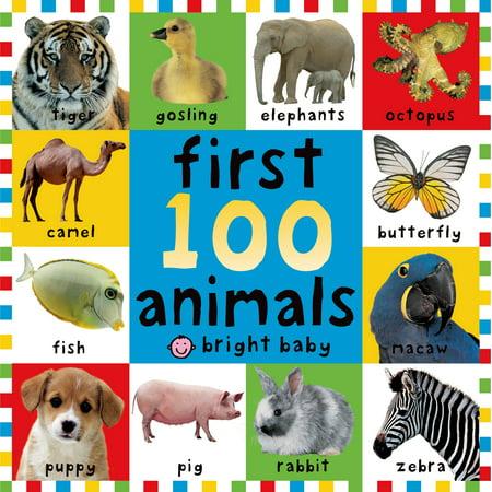 (1st 100 Animals (Board Book))