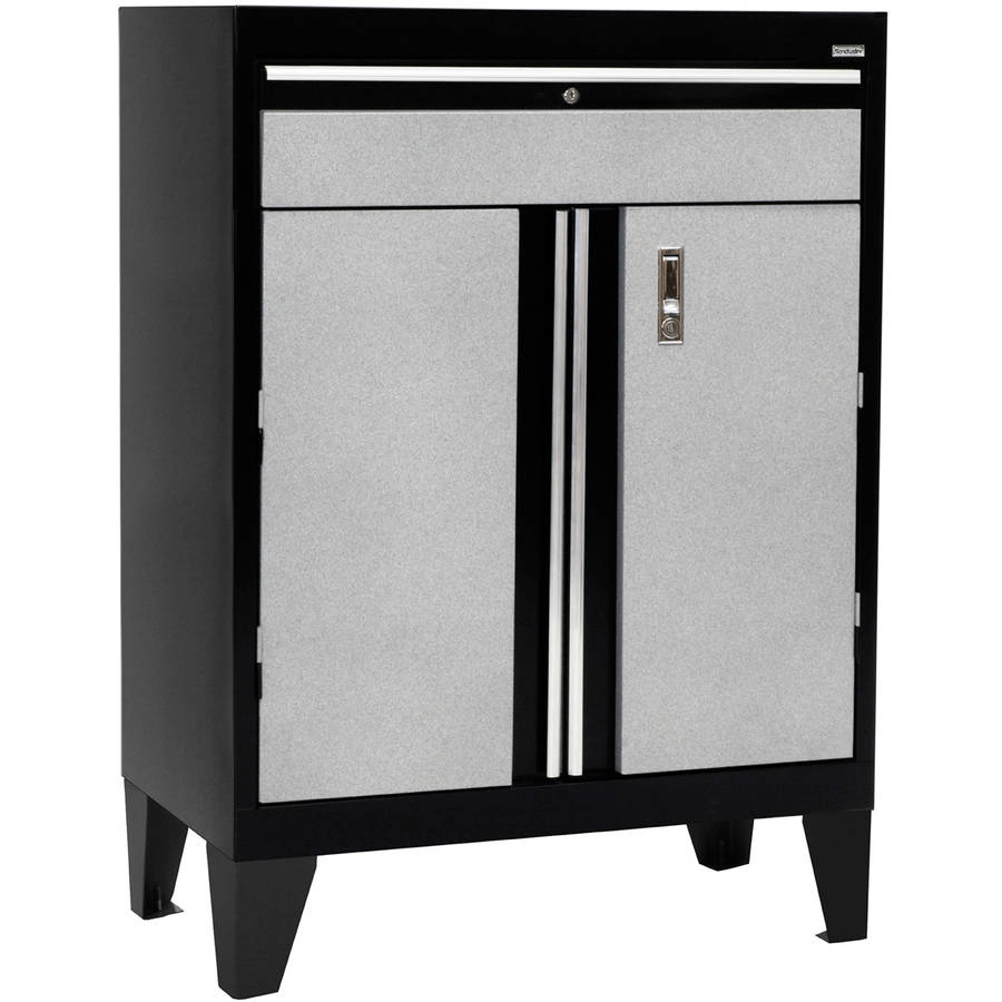 "30""W x 18""D x 43""H Modular Storage System Base Cabinet with Drawer"