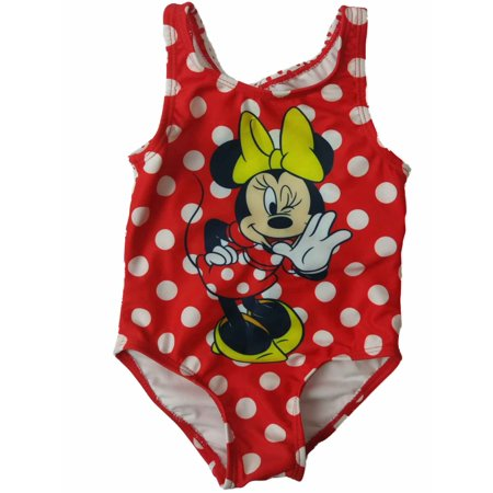 c3a8cb180ece Disney - Infant Toddler Girls Disney Minnie Mouse Red Polka Dot 1 ...