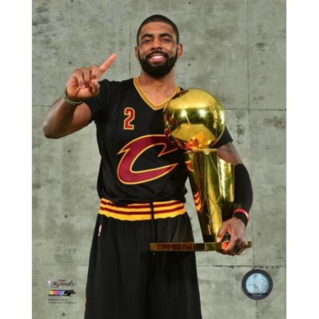 Kyrie Irving With The Nba Championship Trophy Game 7 Of The 2016 Nba Finals Sports Photo
