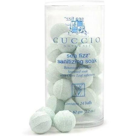 Manicure Balls - Cuccio Naturale Sea Fizz Manicure Soak Balls 24ct