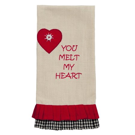 Snow Much Fun You Melt My Heart Dishtowel](You Melt My Heart)