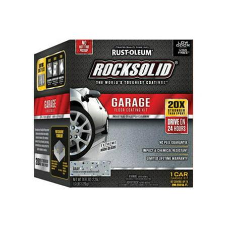 - Rust-Oleum RockSolid Garage Floor Coating Kit