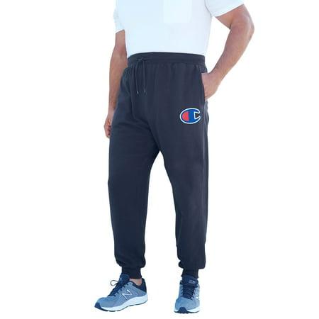 55367431 Kingsize - Men's Big & Tall Fleece Logo Pants By Champion - Walmart.com