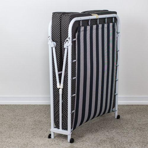 Ebern Designs Kircher Memory Foam Rollaway Guest Bed with Mattress