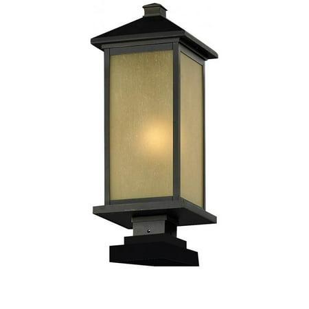 Z-Lite Vienna Outdoor Post Light in Oil Rubbed Bronze - image 1 de 1
