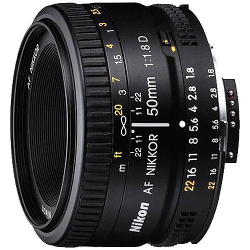 Nikon AF Nikkor 50mm f 1.8D Standard Lens by Nikon
