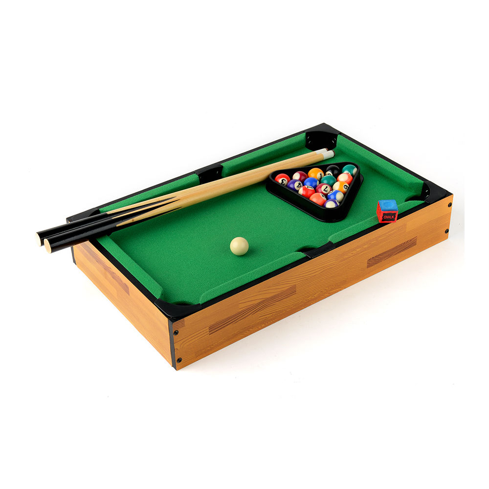 Zimtown Mini TableTop Pool Table Games And Accessories 18 X 11 X 3.5 Inches  For Kids
