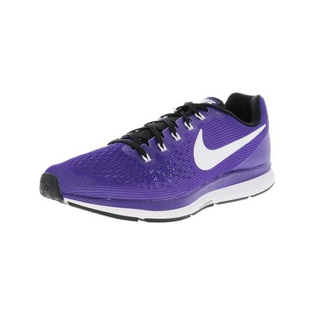 buy popular c814a 8b09f Nike Men's Air Zoom Pegasus 34 Tb Court Purple / White ...