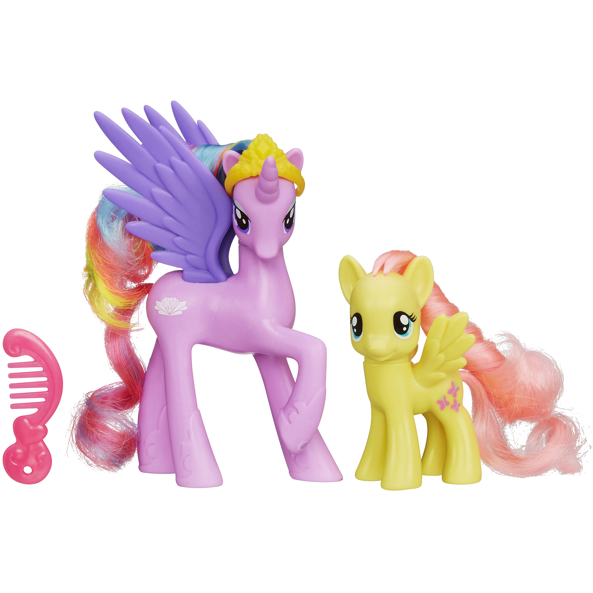 My Little Pony Princess Cutie Mark Magic Princess Sterling and Fluttershy Figure Set