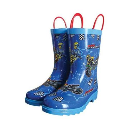 Smooth MX Superstars Youth Rain Boots