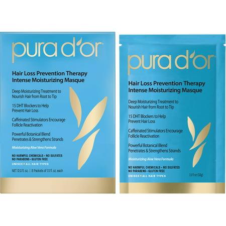 Hydra Intense Masque (Pura D'or Hair Loss Prevention Therapy Intense Moisturizing Masque, 12 Fl Oz)