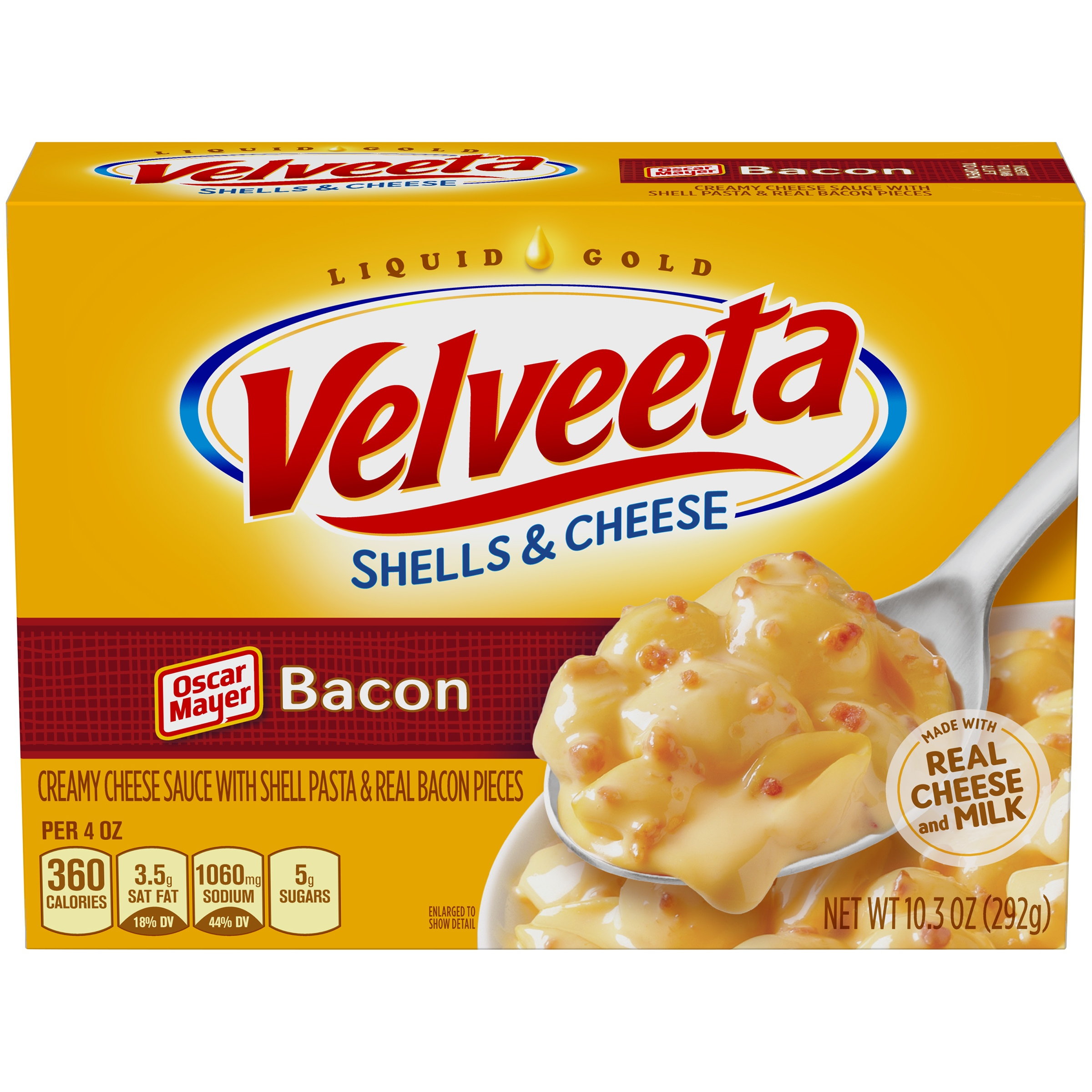 Velveeta Bacon Shells & Cheese 10.3 oz. Box