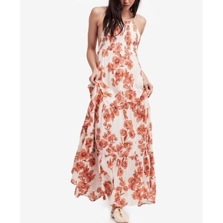 Free People Garden Party Maxi Dress Ivory L - Bebe Party Dress