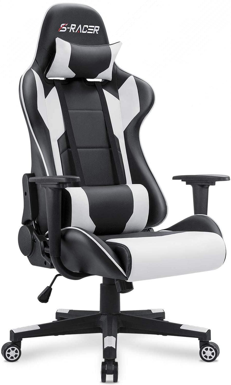 Homall Gaming Chair Office Chair High Back Computer Chair PU