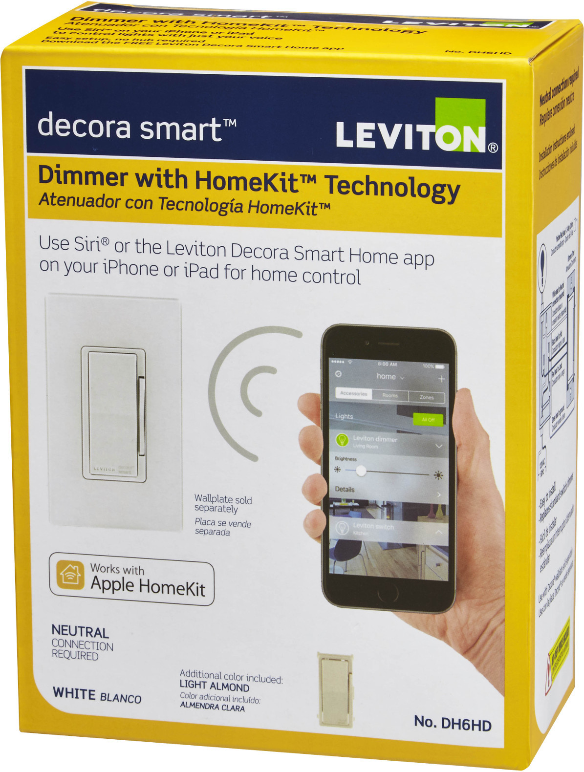 Fein Leviton Smart Home Bilder - Schaltplan Serie Circuit Collection ...