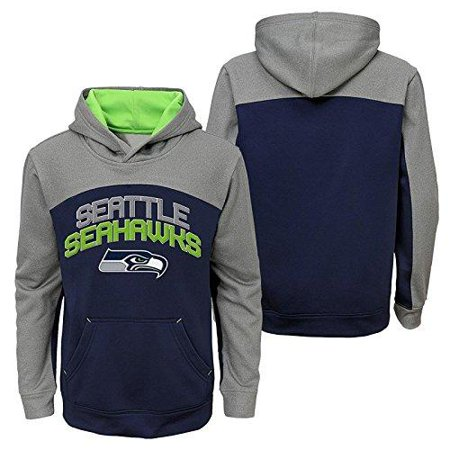 the best attitude 1ff9f 0a133 NFL Youth Seattle Seahawks Sweatshirt Arc Pullover Hoodie