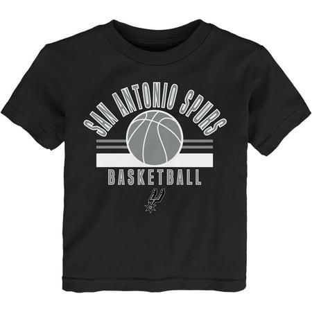 Newborn & Infant Black San Antonio Spurs Short Sleeve T-Shirt](Costume Shops In San Antonio)