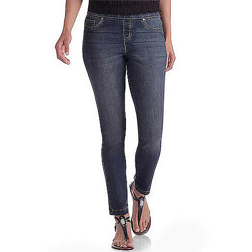 Faded Glory Women's Denim Jeggings, available in Regular and Petite!
