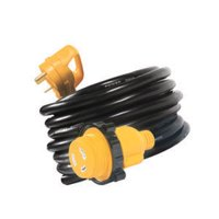 Camco RV 25' PowerGrip Extension Power Cord