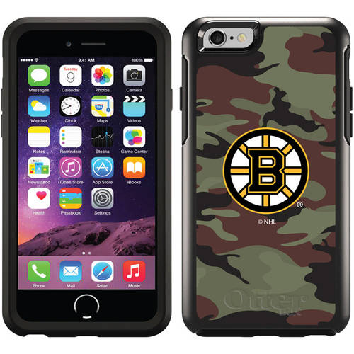 Boston Bruins Traditional Camo Design on OtterBox Symmetry Series Case for Apple iPhone 6