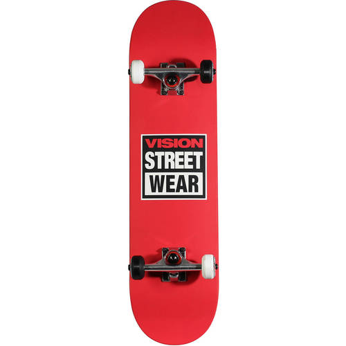 "Vision 31"" Popsicle Complete Skateboard, 31"" x 8"" by Bravo Sports"