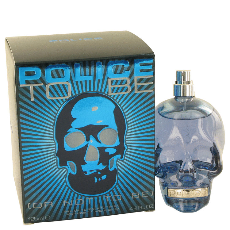 Police Colognes Police To Be or Not To Be Eau De Toilette Spray for Men 4.2 oz