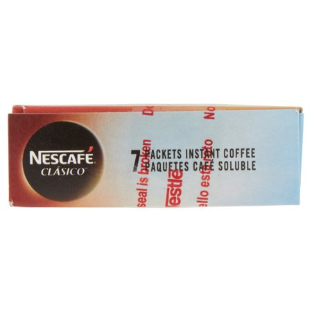 NESCAFE CLASICO Instant Coffee 7-0.07 oz. Packets