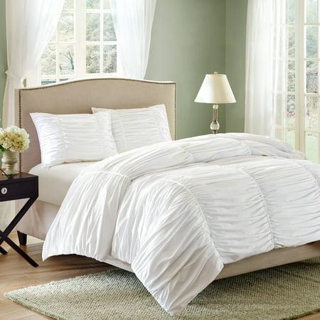 Better Homes And Gardens Ruching 3 Piece Comforter Set