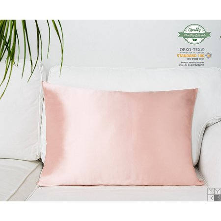 Myk 100 Pure Natural Mulberry Silk Pillowcase 19 Momme
