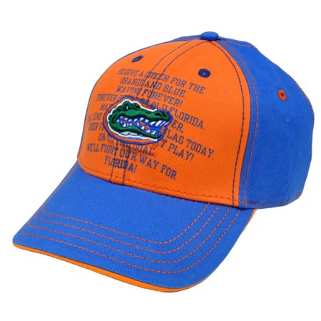 NCAA Florida Gators Fight Song Chino Hat Cap Construct  Adjustable Curved - Florida Gators Hats