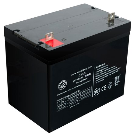 Independence 75AH 12V 75Ah Wheelchair Battery - This is an AJC Brand Replacement - image 5 of 5