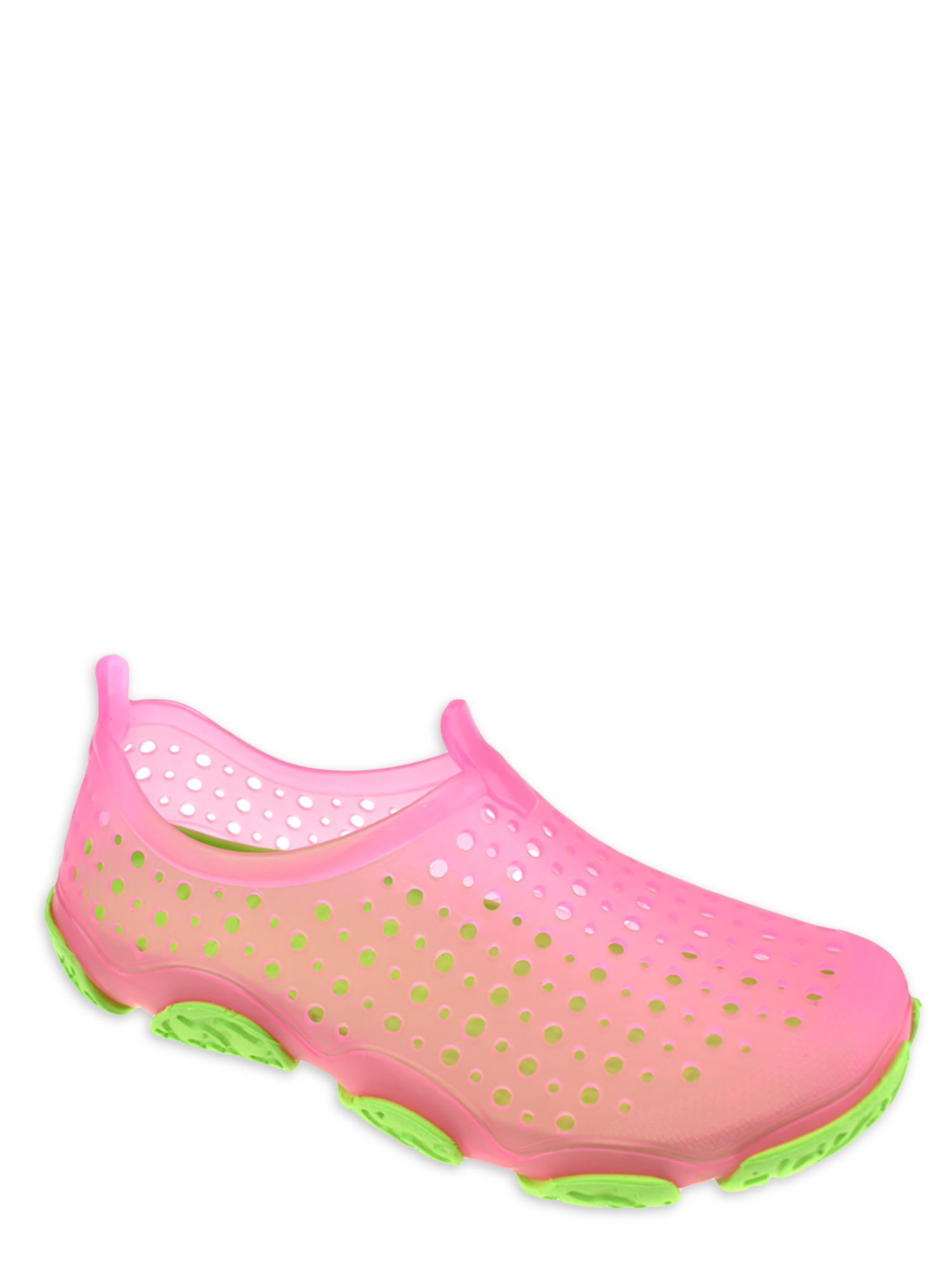 WP Colorful Jelly Clogs for Kids Girls Slip on Walking Waterproof Sandals 1003