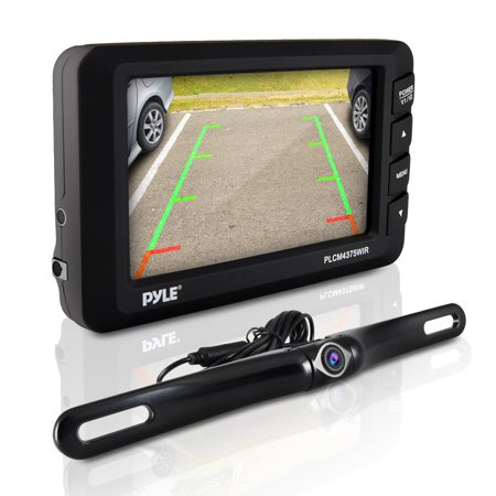 Back Up Cameras >> Pyle Plcm4375wir Wireless Backup Car Camera Rearview Monitor