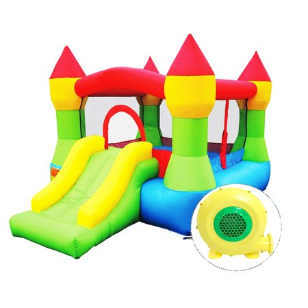 7c2fbdfb4b0a Zimtown Kids Inflatable Bounce House Castle Large Commercial Kids ...