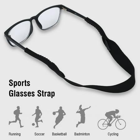 WALFRONT Glasses Strap, Glasses Cord,5pcs Sports Glasses Elastic Neck Strap Retainer Cord Chain Holder Lanyard for Eyeglasses - image 4 of 9