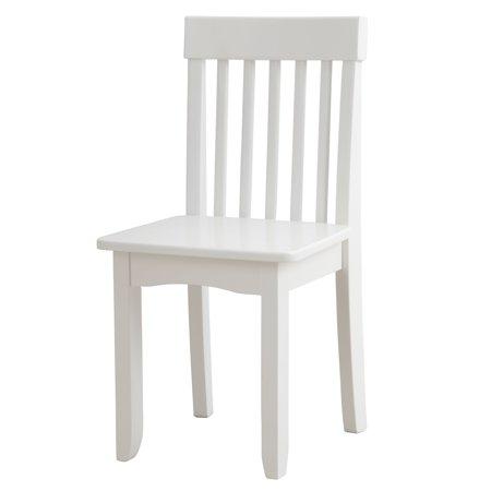 Fine Kidkraft Avalon Wooden Single Classic Back Desk Chair For Children White Cjindustries Chair Design For Home Cjindustriesco