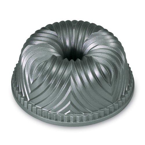 """Nordic Ware Bavaria Bundt Pan 2.50 Quart 9.13"""" Length X 9.13"""" Width Bundt Pan Cast Aluminum... by Nordic Ware"""