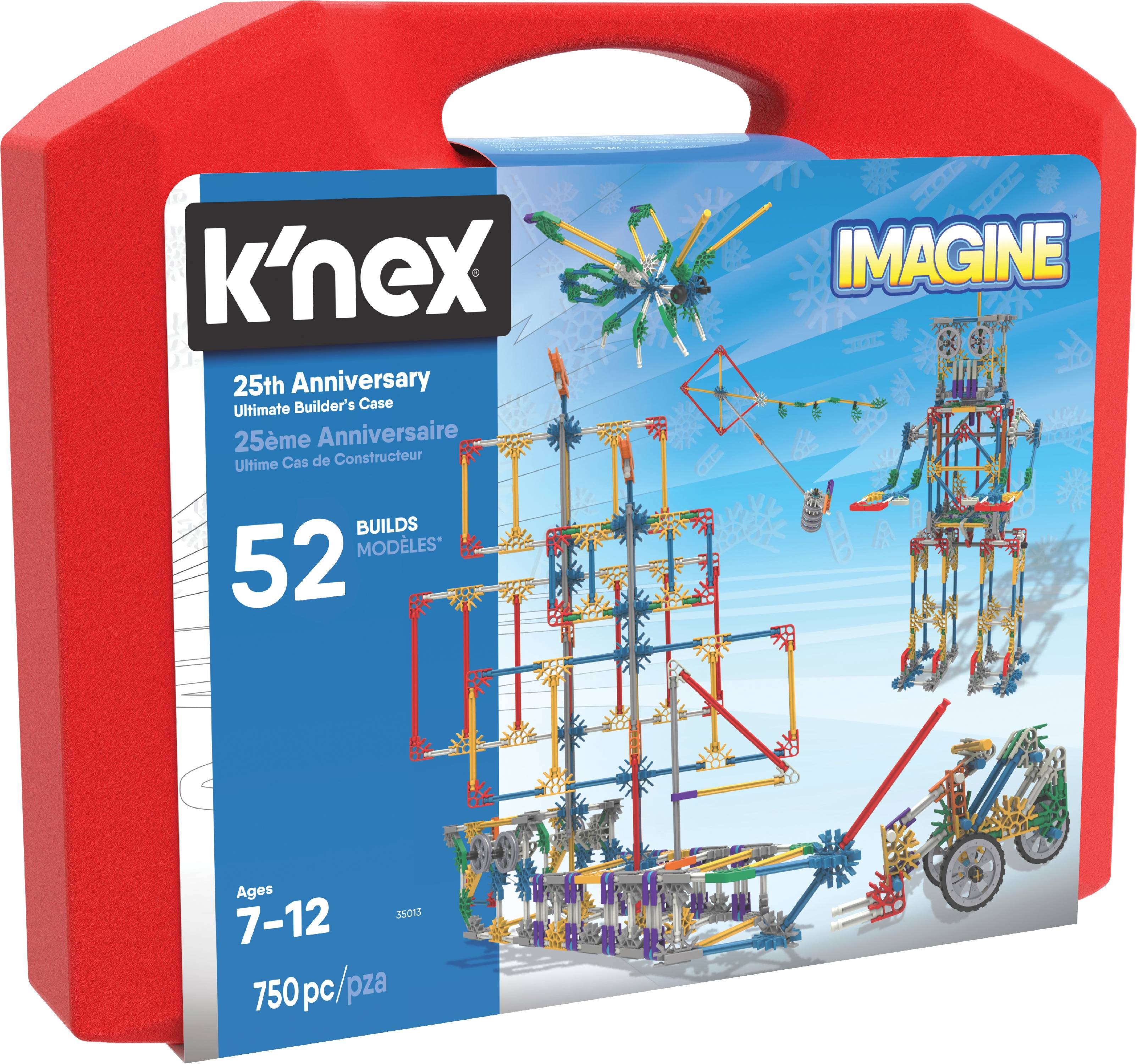 K'NEX Imagine - 25th Anniversary Ultimate Builder's Case